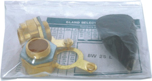 BW, CW & E1W type all size cable gland kits packing