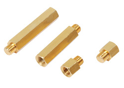 Brass Spacers, Male Female Spacers